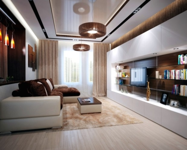 Living room interior design ideas – brown is modern | Interior .. | living room interior design