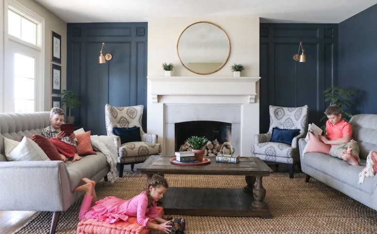 Living Room Makeover with The RoomPlace - Sincerely, Sara D .. | living room makeover