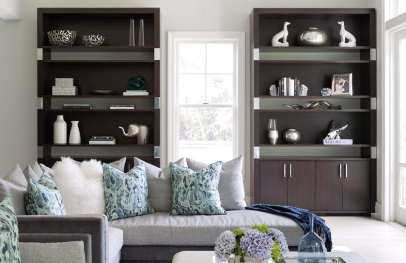 Living Room Storage Ideas for a Clutter Free Space | LuxDeco | living room storage