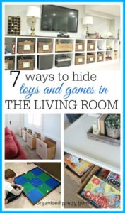 Living Room Toy Storage Ideas | Living room toy storage, Family ... | living room toy storage