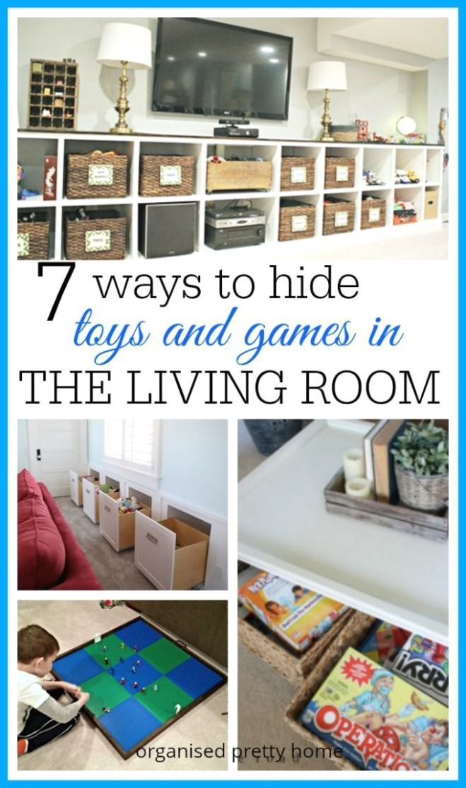 Living Room Toy Storage Ideas | Living room toy storage, Family .. | living room toy storage