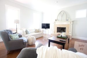 Living Room Update - Two Sofas It Is! | The Lettered Cottage | living room 2 chairs