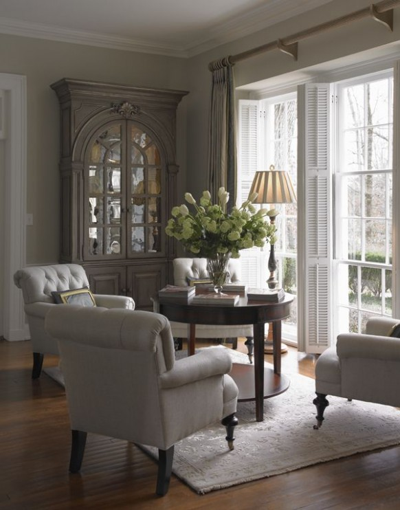 Living Rooms 21 | International Interior Design Firm | Greensboro .. | living room 4 chairs