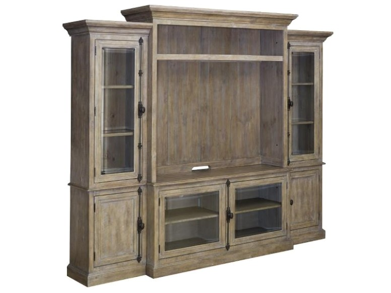 Magnussen Home Living Room Wood Hutch Kd MGNE20 Walter E | living room hutch