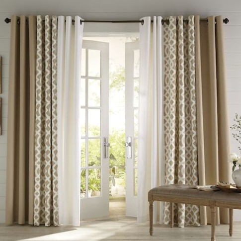 Make the Most of Your Living Room and Dining Room Combo | Dining ... | living room curtains