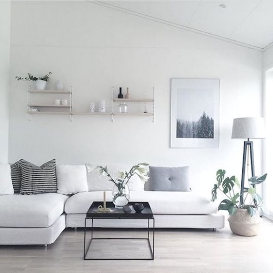 Minimalist Apartment Decor Ideas To Simplify Your Life | living room minimalist