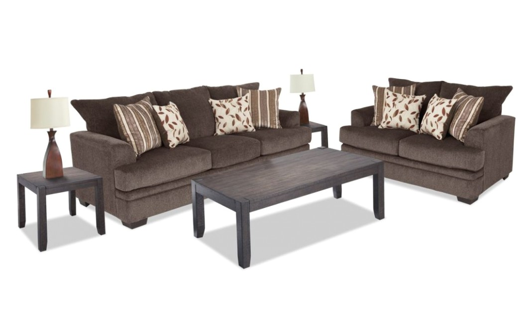 Miranda 15 Piece Living Room Set | Bobs with regard to Unique ... | living room 7 piece sets