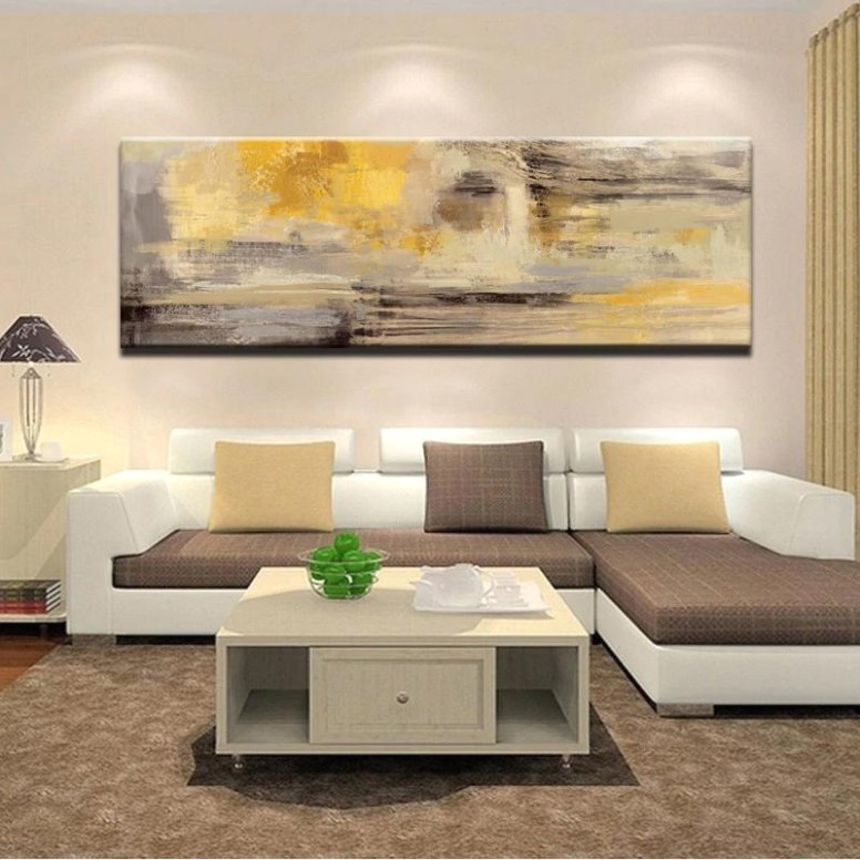 Modern Abstract Paintings Wide Format Canvas Fine Art Prints Wall Art For  Bedroom Living Room Dining Room Art For Modern Home Decor - living room paintings | living room paintings