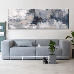 Modern Abstract Paintings Wide Format Canvas Fine Art Prints Wall Art For  Bedroom Living Room Dining Room Art For Modern Home Decor | living room wall art