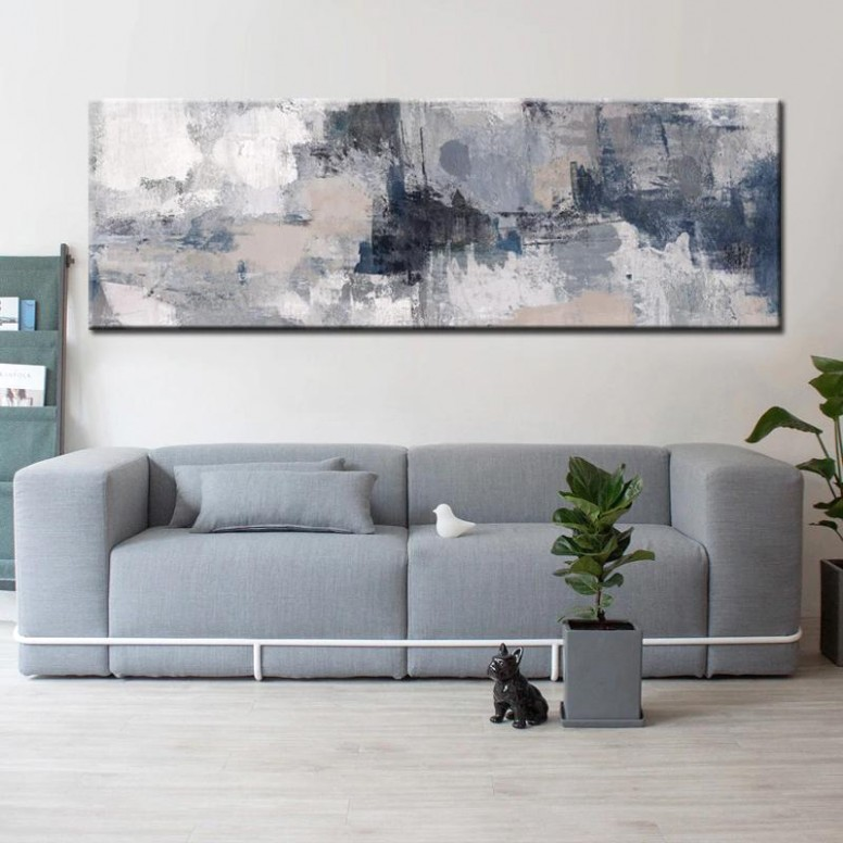 Modern Abstract Paintings Wide Format Canvas Fine Art Prints Wall Art For  Bedroom Living Room Dining Room Art For Modern Home Decor - living room wall art | living room wall art