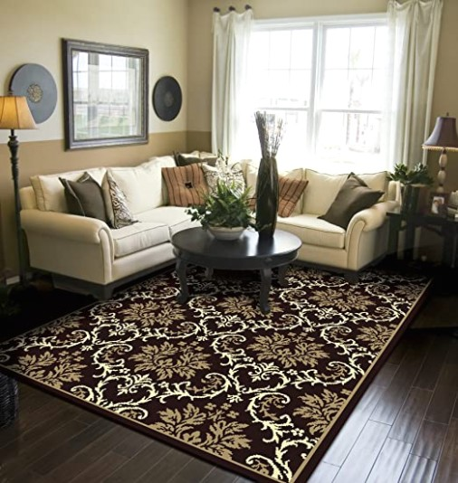 Modern Area Rugs Black 19x19 Rugs for Living Room 19x19 - living room 5x8 rug | living room 5x8 rug