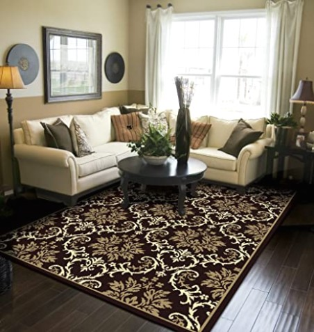 Modern Area Rugs Black 20x20 Rugs for Living Room 20x20 - living room rugs | living room rugs