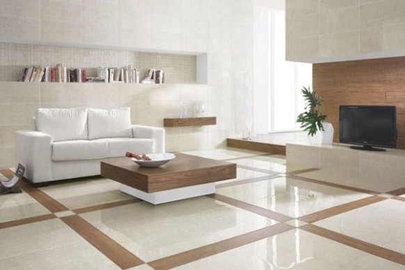 Modern Ceramic Tile Flooring of perfect modern home | Living room .. | living room floor tiles