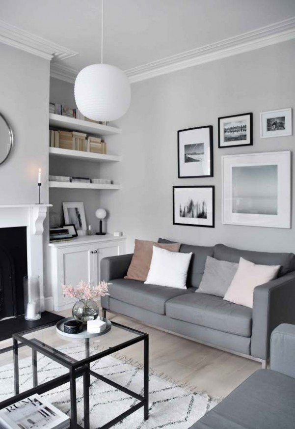 My soft, minimalist living-room makeover | The reveal | These Four .. | living room minimalist