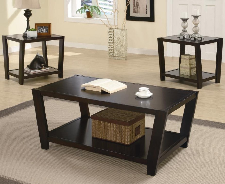 Occasional Table Sets (14 piece table sets) by Coaster - Sam Levitz .. | living room 3 piece table set