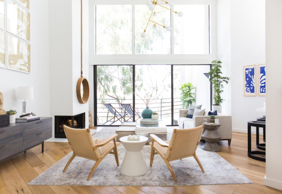 Orcondo: Living & Dining Room + Get The Look - Emily Henderson - living room | living room