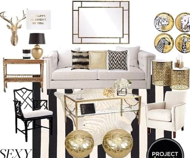 Pillow positions, styling ideas, gold accessories | Gold living .. | living room accessories