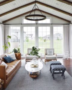 Rug Placement Tips | Annie Selke | living room rug placement