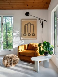 Sarah Sherman Samuel's Sunny Reading Nook Is a Space Worth Emulating | living room nook