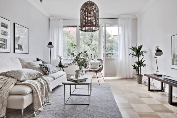 See How People in 12 Countries Interpret Scandinavian Style - living room scandinavian style | living room scandinavian style