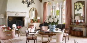 See Inside: A Fabled 13s Palm Beach Mansion Revival   living room 1920s