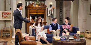 See the 'Will & Grace' apartment reimagined | will and grace living room painting