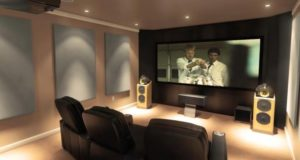Setting Prefect Living Room Theaters | Home theater room design ... | living room theater
