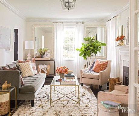 Small Room Solutions: Living Rooms | Living room furniture .. | living room ideas pinterest