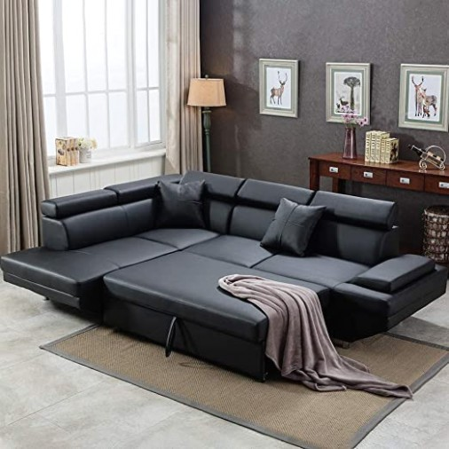 Sofa Sectional Sofa for Living Room Futon Sofa Bed Couches and Sofas  Sleeper Sofa Modern Sofa Corner Sofa Faux Leather Queen 20 Piece Modern .. | living room sofa