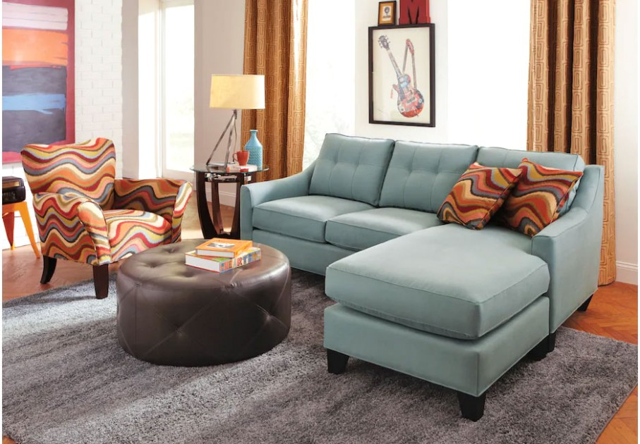 Sofa Sets for Small Living Rooms: Small Couches, Sectionals, etc | living room necessities