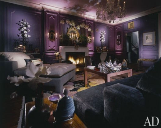 The Allure of Uplights | Architectural Digest - living room uplighting | living room uplighting