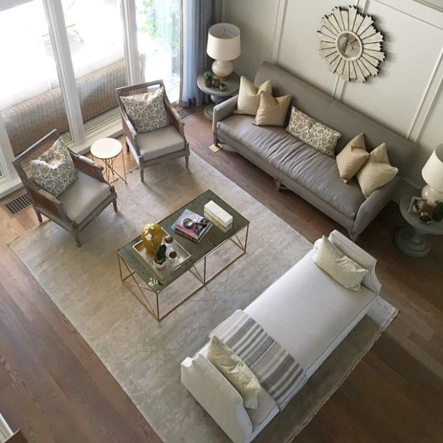 The Best Luxury Living Room Designs from Our Favorite Celebrities .. | living room furniture layout