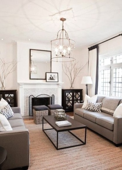 The Fitzjames Lantern is simplicity at its best. This hammered .. | living room ideas pinterest