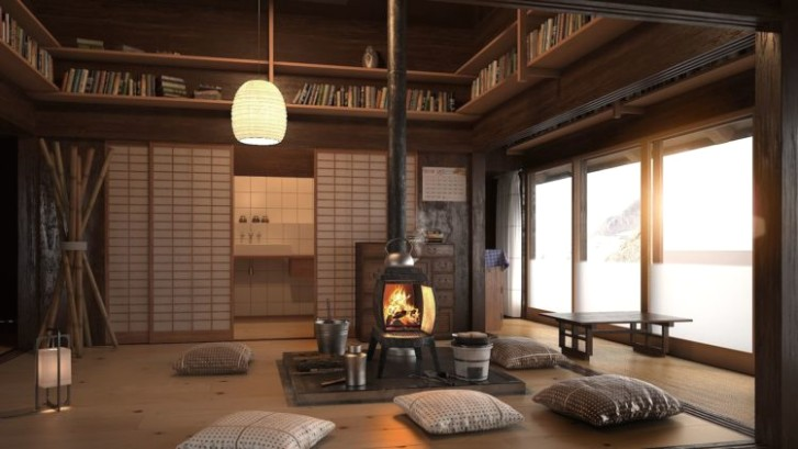 The Key Characteristics of a Japanese Living Room | living room japanese