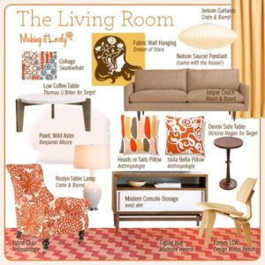 The Living Room, Reimagined - Making it Lovely | living room things