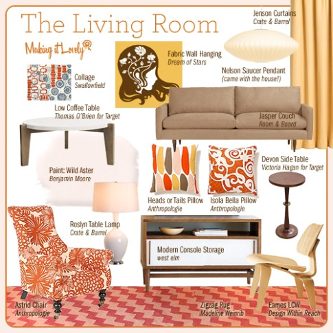 The Living Room, Reimagined - Making it Lovely - living room things   living room things