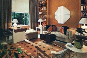 These retro living rooms are a vintage lover's dream ... | living room 80s