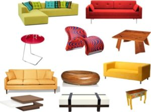Things Found In The Living Room Clipart | living room things