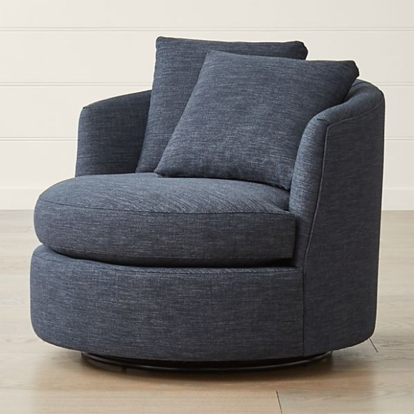 Tillie Swivel Chair - living room chairs | living room chairs