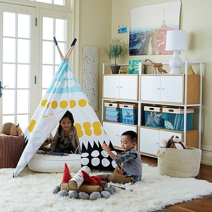 Top 15 Easy Toy Storage Ideas | Crate and Barrel - living room toy storage | living room toy storage