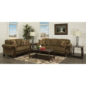 Traditional Brown 20 Piece Living Room Set - Montgomery | living room 5 piece sets