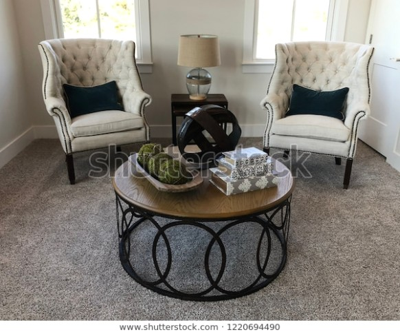 Traditionally Stylied Living Room Interior 21 Stock Photo (Edit Now .. | living room 2 chairs