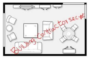 Tutorial: Size Of Rooms And How to Locate A Room In A Residential ... | living room size