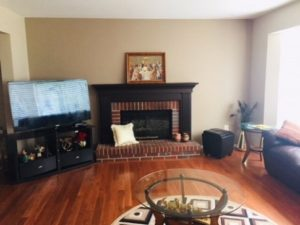 TV placement in family room no wall space | living room no tv
