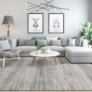 US $14.14 14% OFF|Nordic Grey Series Carpet Living Room Home Bedroom Carpet  Sofa Coffee Table Rug Modern Design Floor Mat Kids Room Floor ... | living room grey