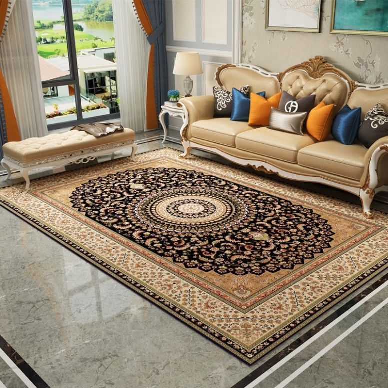 US $14.14 14% OFF|Persian Royal Soft Carpets For Living Room Bedroom Kid  Room Rugs Home Carpets Floor Door Mat Rug For Living Room Area Rugs .. | living room area rugs
