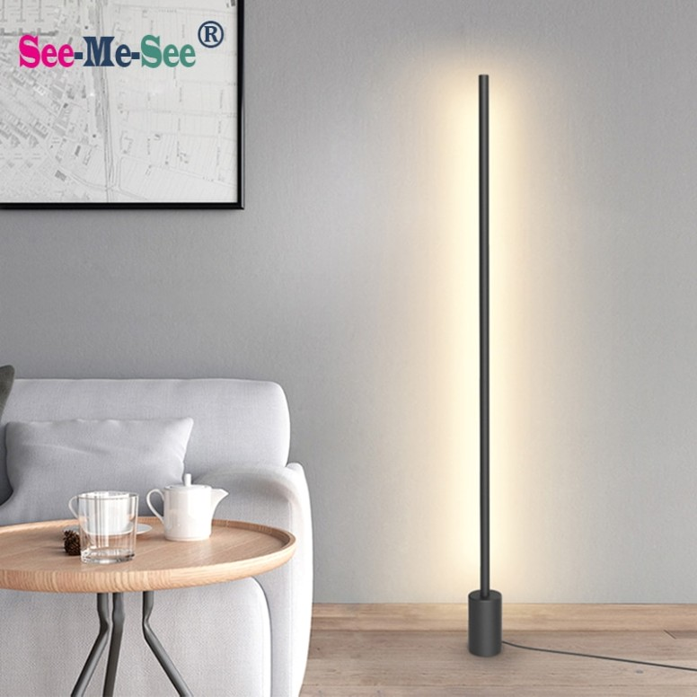 US $19.19 19% OFF|Modern Minimalist Nordic standing lamps led Floor Lights  Creative for Living Room Led floor lamps|Floor Lamps|Lights & Lighting - .. | living room lamps