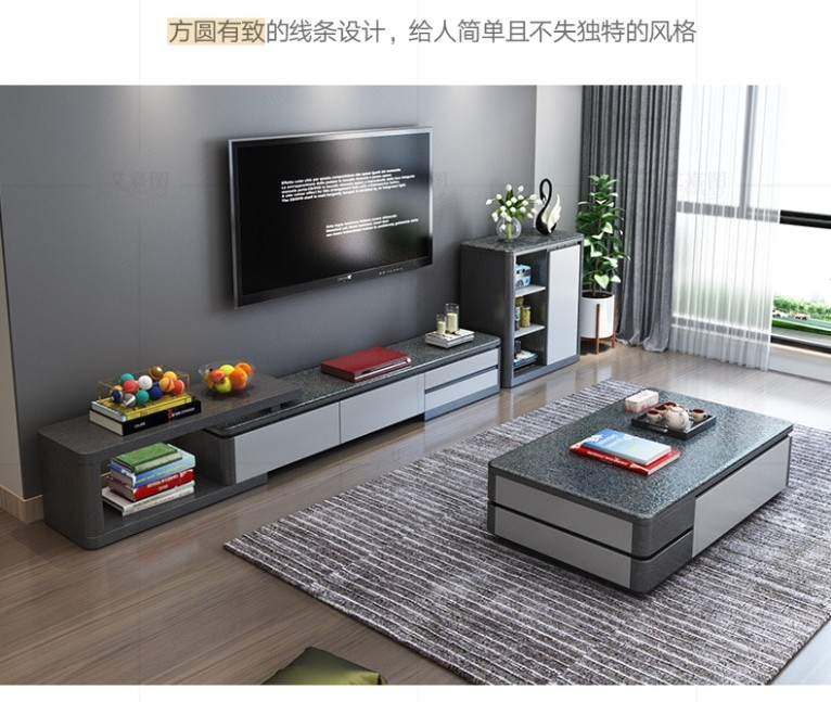 US $19.19 19% OFF|TV Stand modern Living Room TV monitor stand mueble  stalinite cabinet mesa+tv table stand+ Coffee centro Table home  furniture|TV .. | living room tv