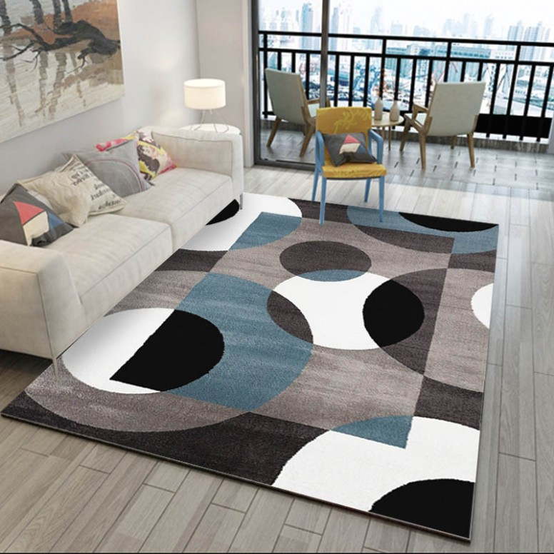 US $20.20 20% OFF|Modern Geometric Carpets For Home Living Room Nordic  Carpet Bedroom Bedside Blanket Area Rug Soft Study Room teppich Floor .. | living room rugs