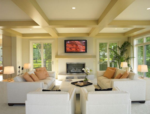 Vail Residence - Modern - Living Room - Miami - by Jorge Castillo .. | living room 2 couches